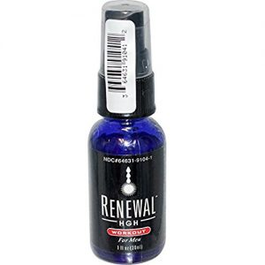 Always Young Renewal HGH Spray - Workout For Men
