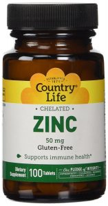Country Life Chelated Zinc
