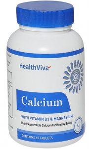 HealthViva Calcium (With Vitamin D3 & Magnesium)