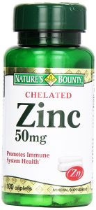 Nature's Bounty Chelated Zinc