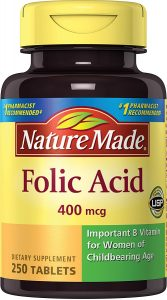 Nature Made Folic Acid