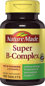 Nature Made Super B Complex Tablets