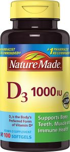 Nature Made Vitamin D3