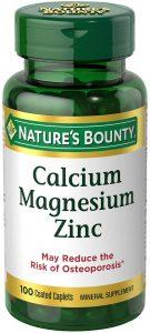 Natures Bounty Calcium Magnesium Zinc