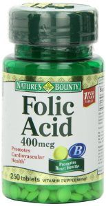 Natures Bounty Folic Acid