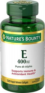 Natures Bounty Vitamin E