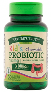 Natures Truth Probiotic Kids Chewable 3 Billion Supplement