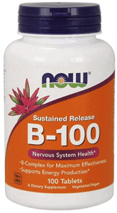 Now Foods Vitamin B-100 Tablets