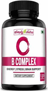 Simply Nutra Vitamin B Complex Vitamins