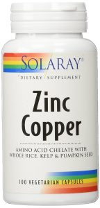 Solaray Zinc with Copper