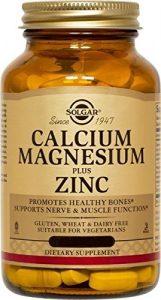 Solgar, Calcium Magnesium Plus Zinc