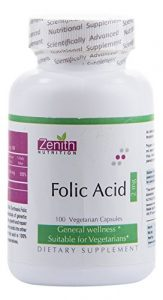 Zenith Nutrition Folic Acid