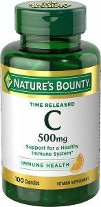 nature's bounty vitamin C