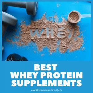 Best Whey Protein Supplements