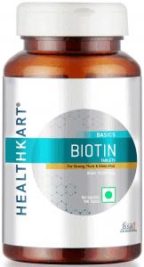 HealthKart Biotin Maximum Strength for Hair Skin & Nails