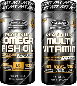 Muscletech platinum Omega Fish Oil