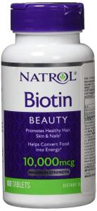 Natrol, Biotin