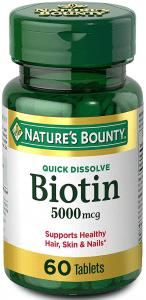 Natures Bounty Biotin