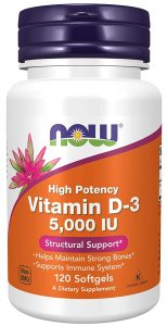 Now Foods Vitamin D Supplements