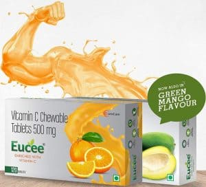 Eucee Vitamin C Chewable Tablets