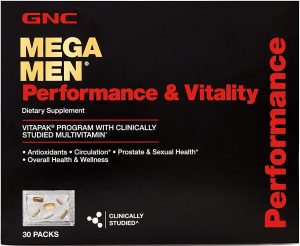 GNC Mega Multivitamins for Men