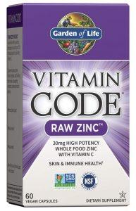 Garden of Life Vitamin Code Zinc