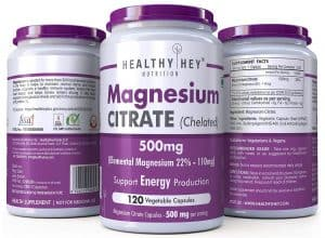 HealthyHey Nutrition Magnesium Citrate