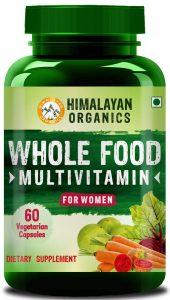 Himalayan Organics Whole Food Multivitamin for Women