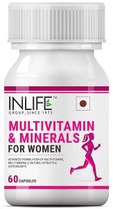 INLIFE Multivitamins & Minerals Antioxidants for Women