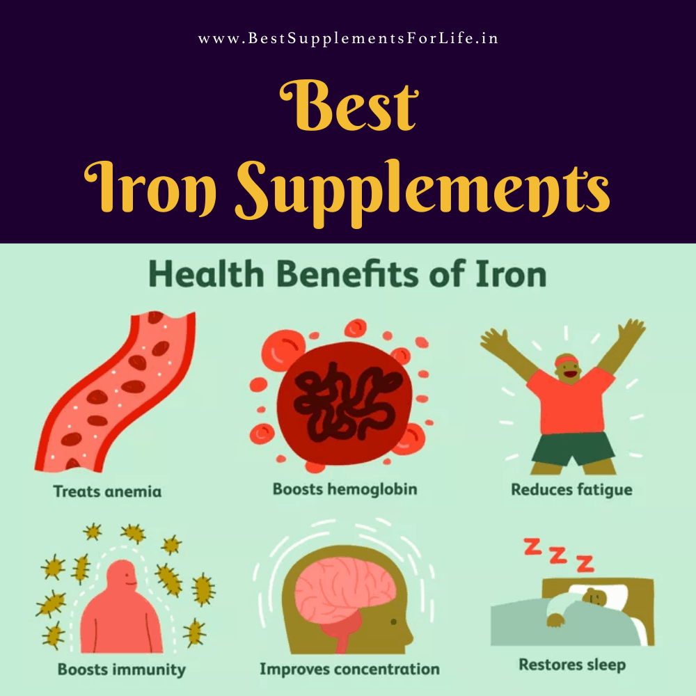 Best Iron Supplements in India