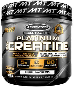 Muscletech Essential Series Platinum Creatine