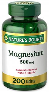 Nature Bounty Magnesium High Potency
