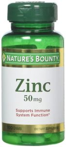Natures Bounty Chelated Zinc