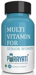 Purayati Multivitamin Dietary Supplement for Senior Women