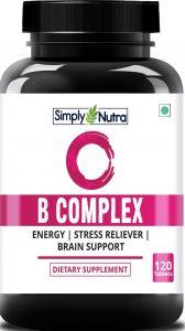 Simply Nutra B Complex Vitamin