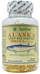 Sunline Alaska Deep Sea Fish Oil
