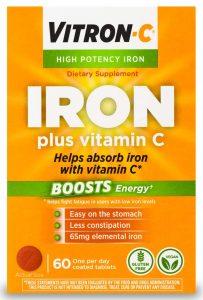 Vitron-C High Potency Iron Supplement
