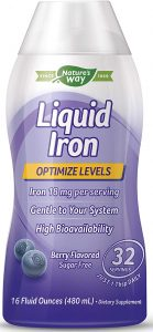 WELLESSE Liquid Mineral Supplement Iron