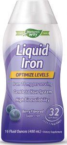 WELLESSE Liquid Mineral Supplement Iron