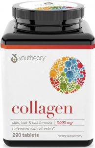 Youtheory Collagen Advanced Formula Tablets