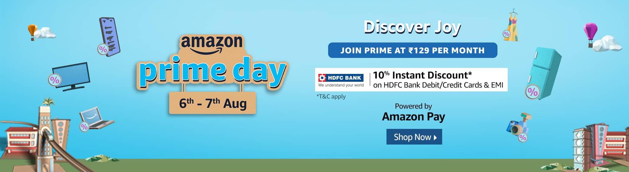 Amzon Prime Day