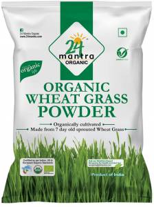 24 Mantra Organic Wheat Grass Powder