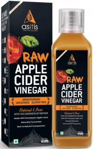 AS-IT-IS Nutrition Raw Apple Cider Vinegar with Mother