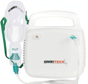 AmbiTech NC 10 Compressor Nebulizer Machine Kit White
