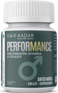Ayurvedic Stamina and Testosterone Booster for Men