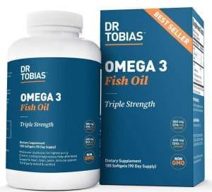 Dr Tobias Omega3 Fishoil Brands