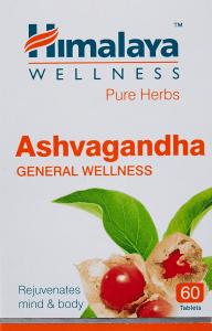 Himalaya Ashwagandha Pure Herbs General Wellness Tablets