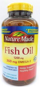 Nature Made Fishoil Brands