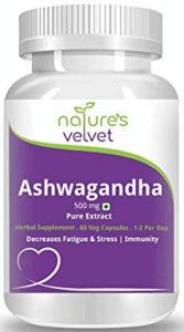Natures Velvet Lifecare Ashwagandha