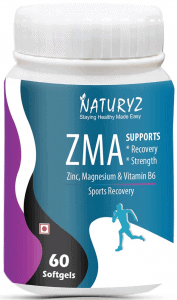 Naturyz ZMA Testosterone Booster & Sports